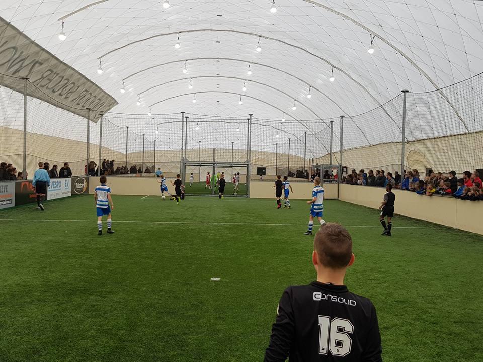 Indoor voetbal hal